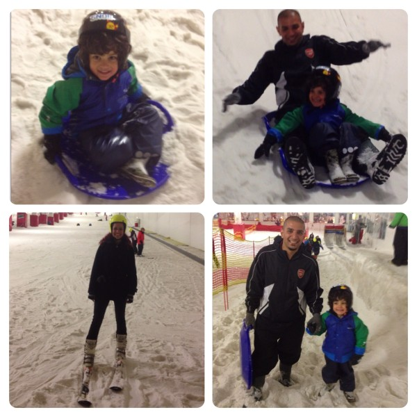 Sledging and Learning to Ski