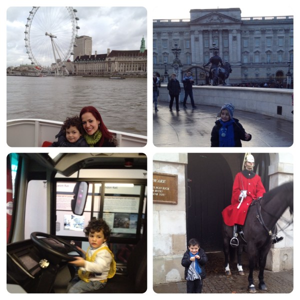 Little Man Sightseeing in London