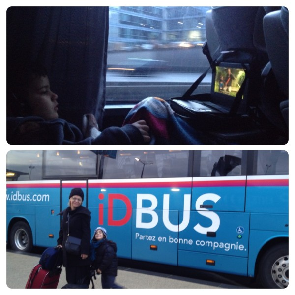 Travelling from London to Paris on iDBUS