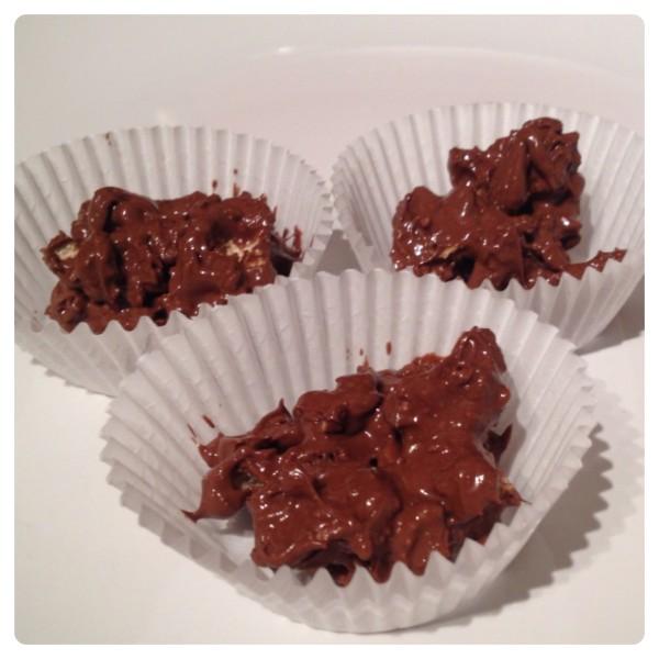 Ryvita Chocolate Bombs