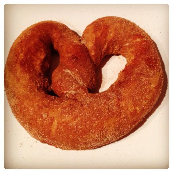 Soft and Sweet Cinnamon Sugar Pretzel