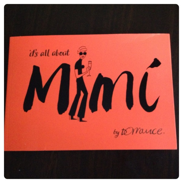 It's All About Mimi Book by Denise Dorrance