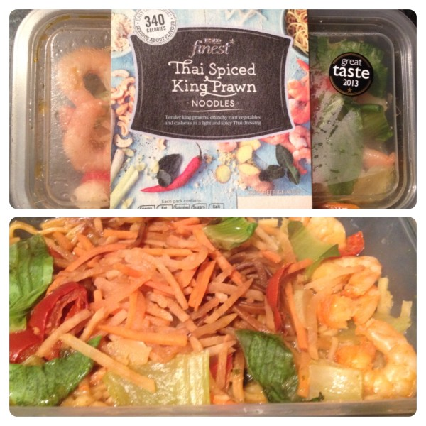Tesco finest* Thai Spiced King Prawn Noodles