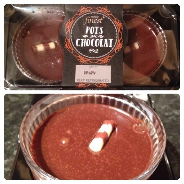 Tesco finest* Pots au Chocolat