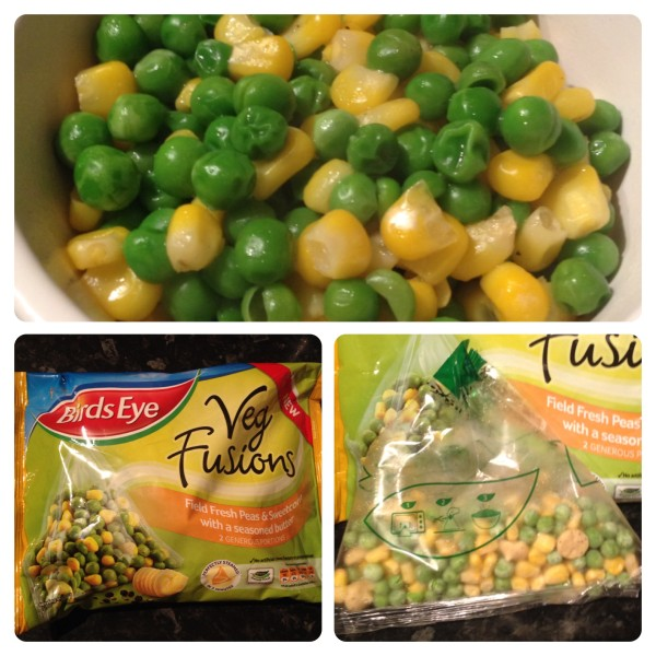 Birds Eye Field Fresh Peas and Sweetcorn with Seasoned Butter