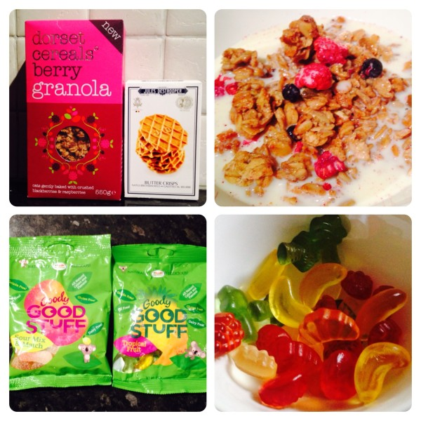 Granola, Biscuits and Sweets
