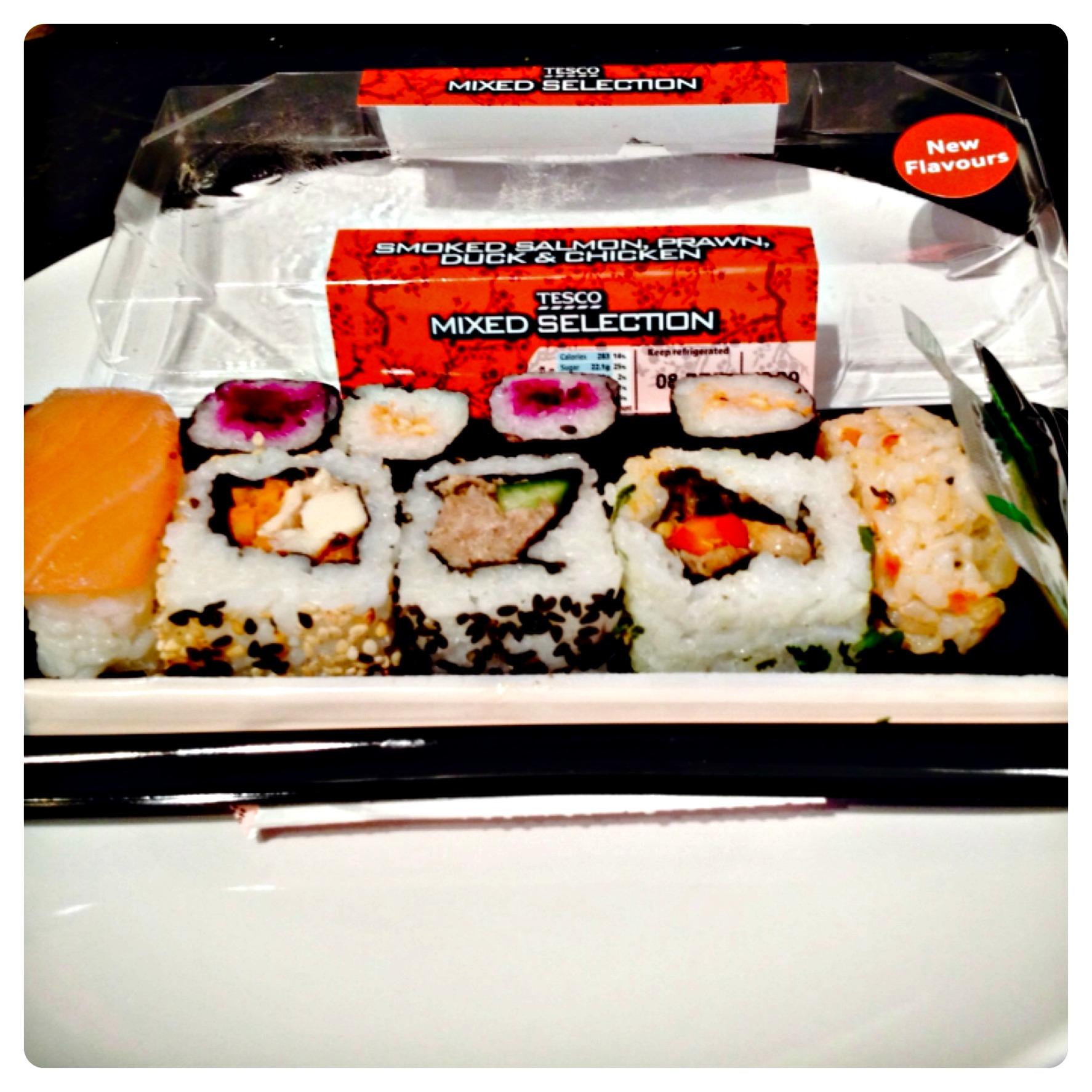 New Tesco Sushi Range – Lilinha Angel's World – UK Food