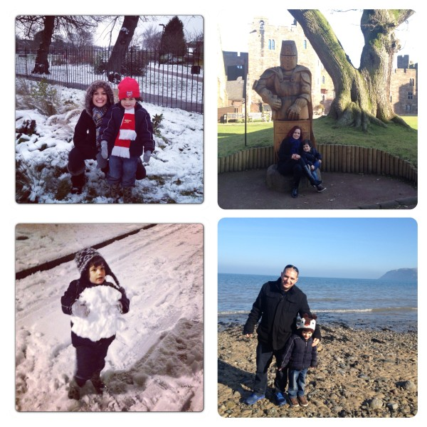 Snow Day and Peckforton Castle