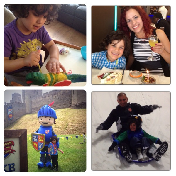 Crafting, Meeting Mike the Knight, Meals Out and Sledging