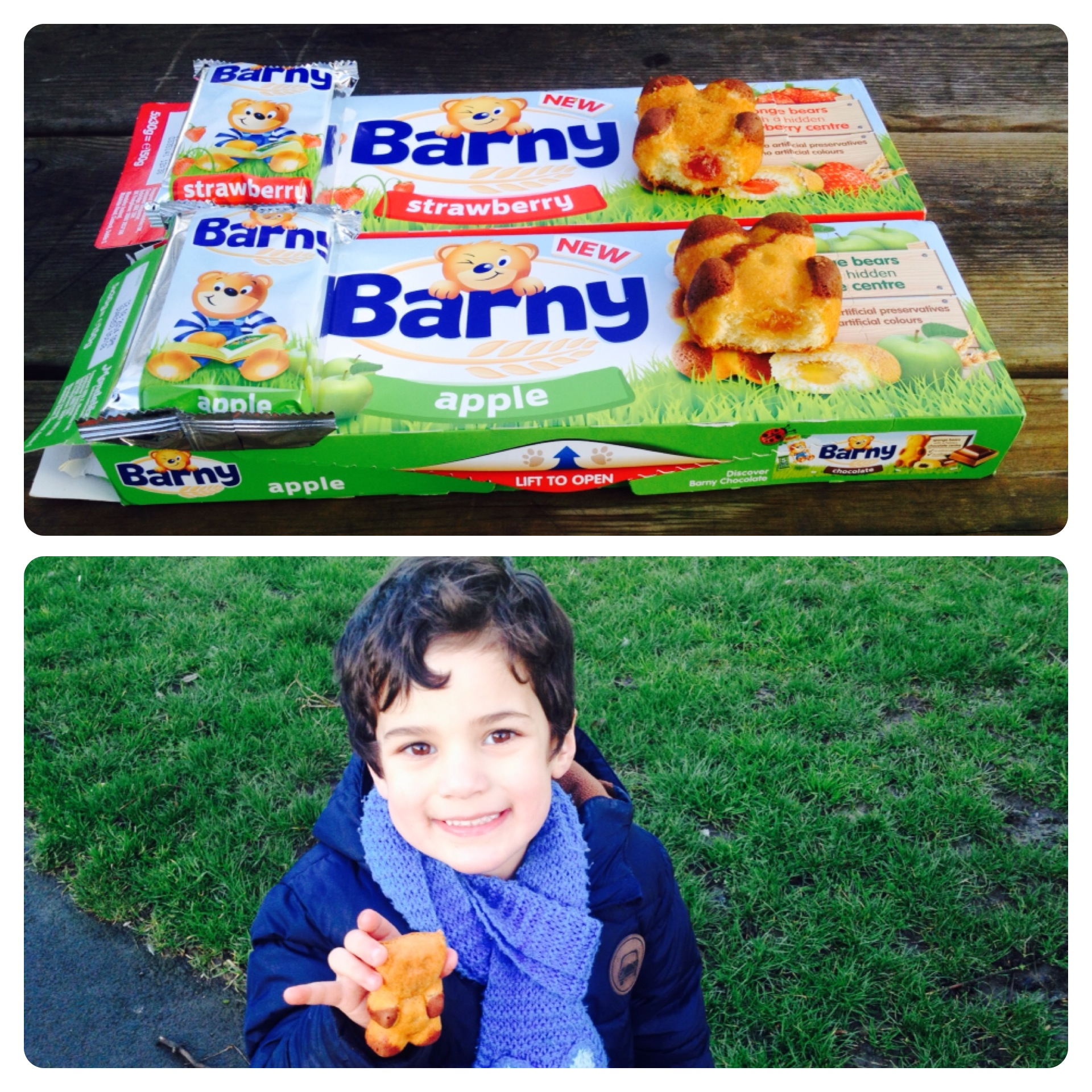 Barny New Flavours: Strawberry and Apple