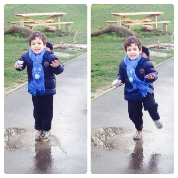 Jumping in more puddles