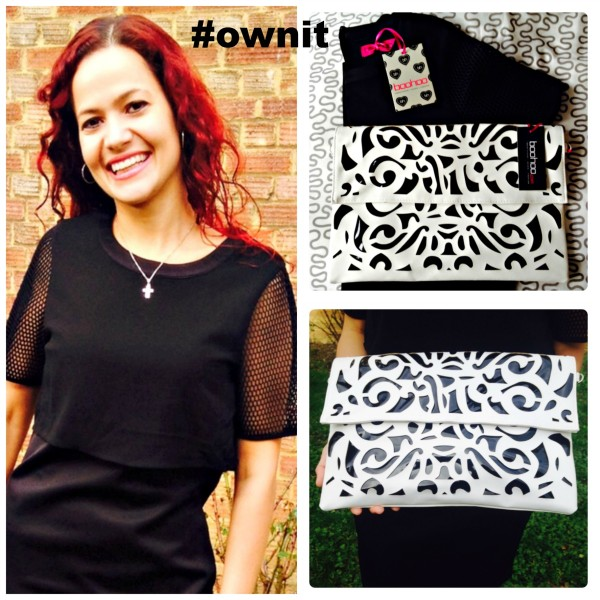 Boohoo Double Layer Bodycon and Clutch Bag #ownit