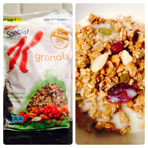 Special K Granola Cranberry, Pumpkin Seeds and Almonds