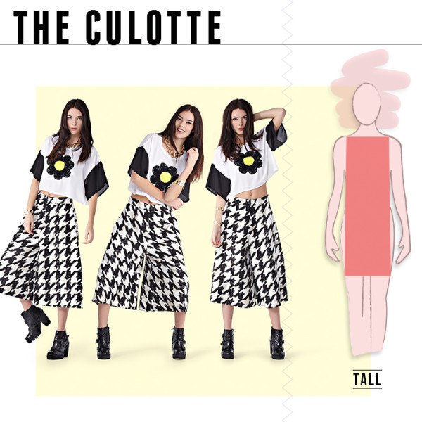 Boohoo The culottes