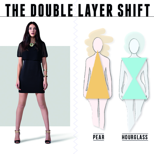 Boohoo The double layer shift