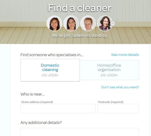 TaskRabbit: Finding a Cleaner