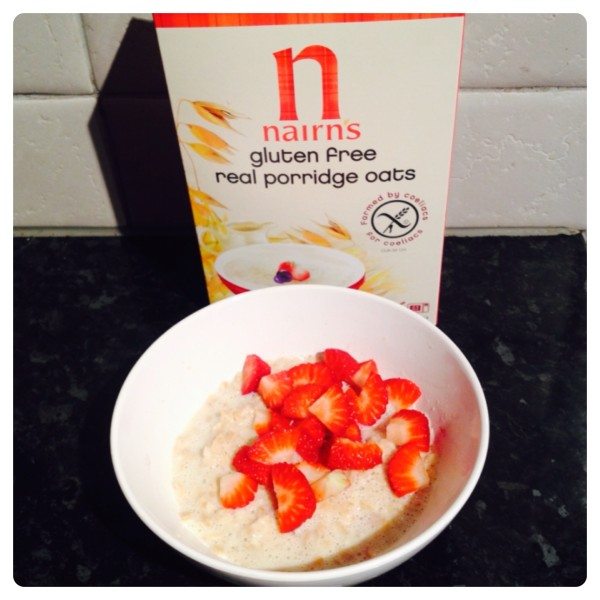 Breakfast: Nairn's Porridge Oats