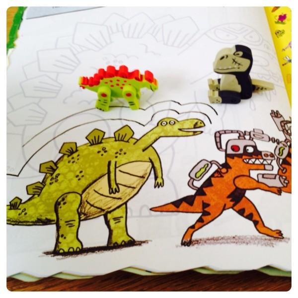 Dino Supersaurus Erasers