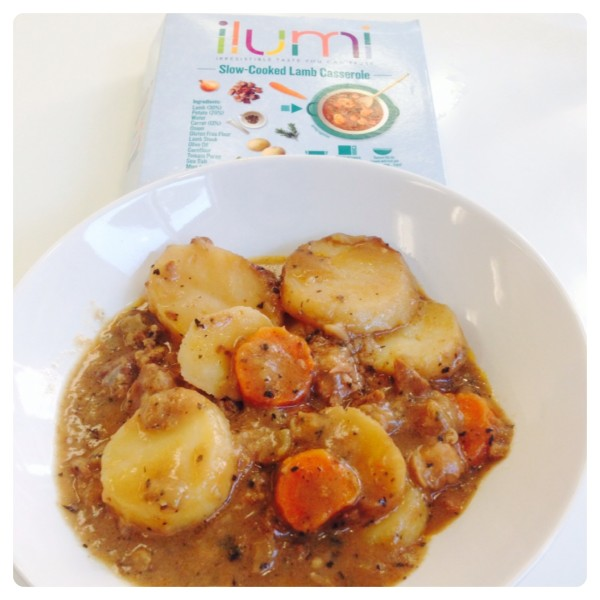 Lunch: Slow-Cooked Lamb Casserole