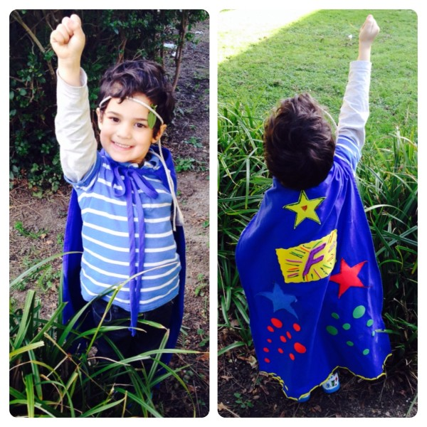 Little Man's Superhero: Fantastic Man!