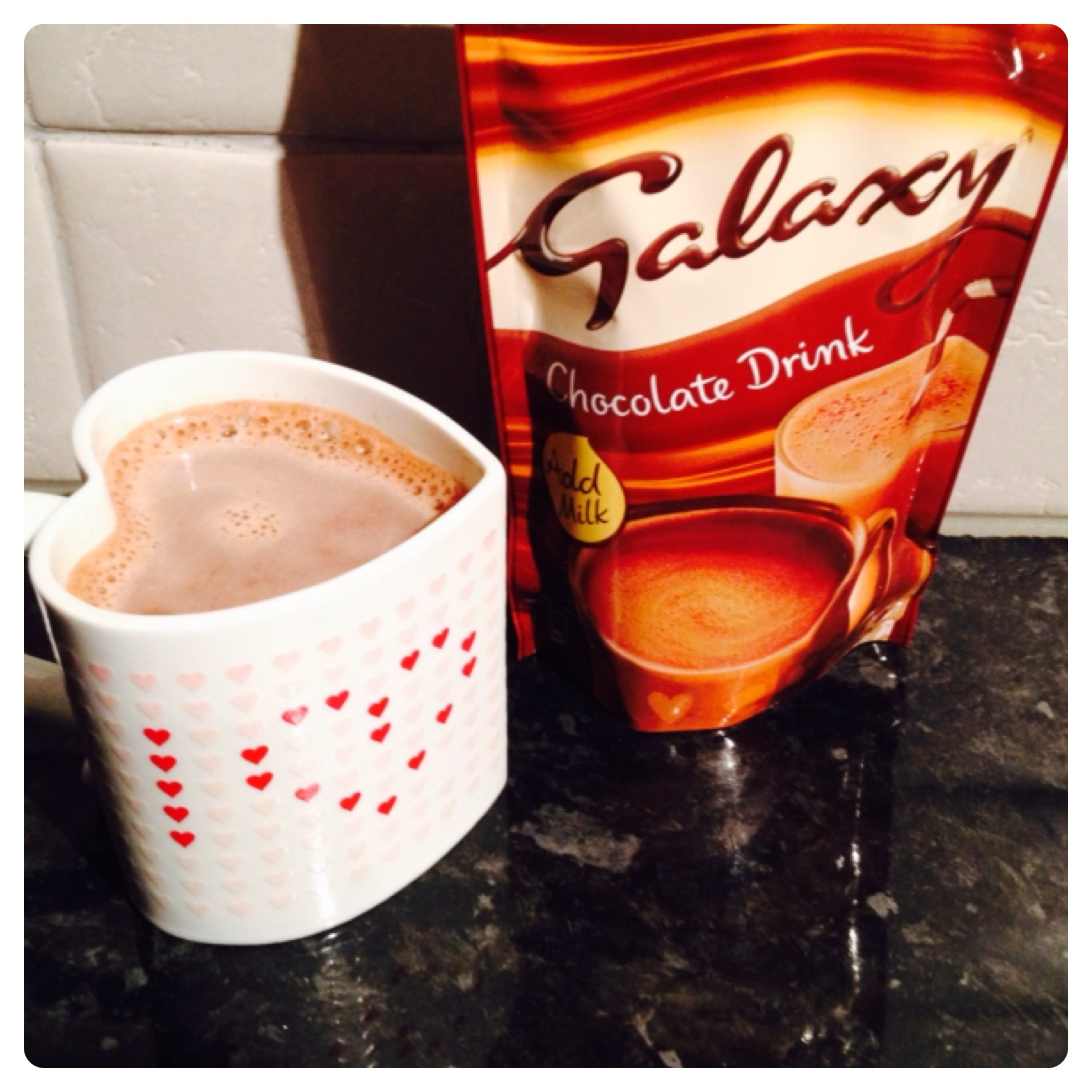 New Galaxy Hot Chocolate Pouches Lilinha Angels World