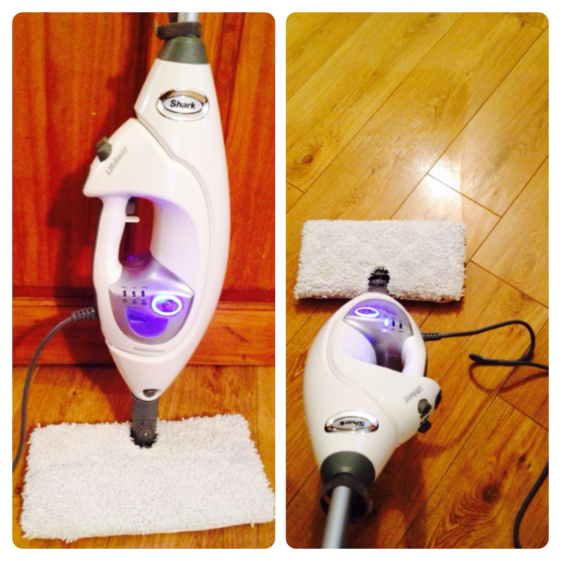 Spring Cleaning With Shark Lift Away Steam Pocket Mop 5 In
