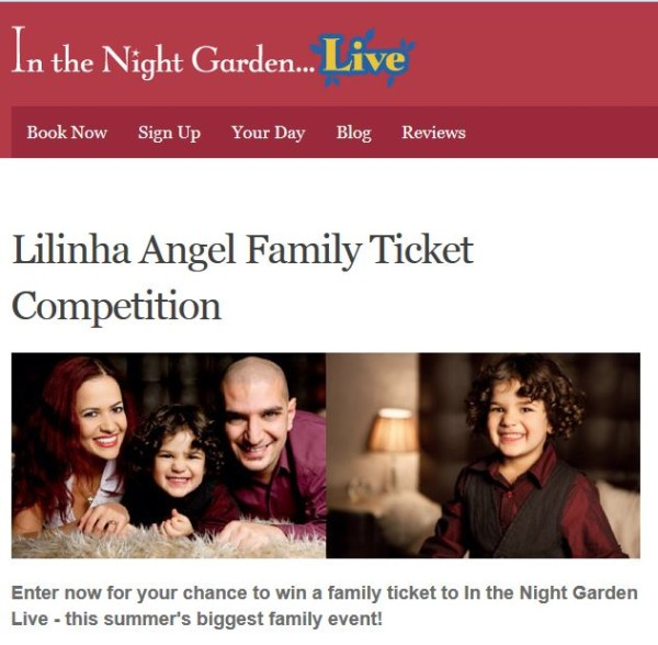 Night Garden Live Competition