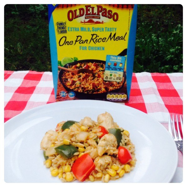 Old El Paso One Pan Rice Meal