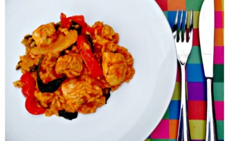 Sweet Chilli Chicken Paella Recipe