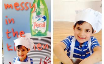 Persil Cook with the Kids Promise