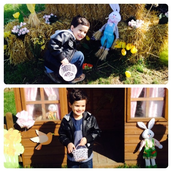 Easter Egg Hunt at Willows Easter Garden