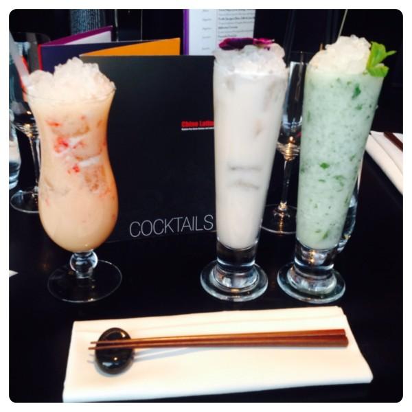 Cocktails at Chino Latino