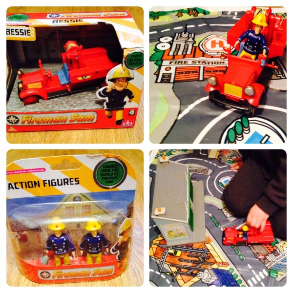Fireman Sam Bessie Vehicle and Action Figures