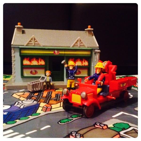 Recreating Fireman Sam's Pontypandy Village