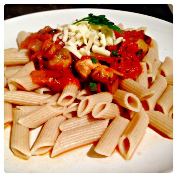 Organico Pasta with Tomato and Basil Sauce