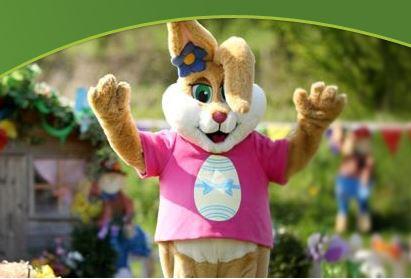 Easter Eggstravaganza event at Willows Farm
