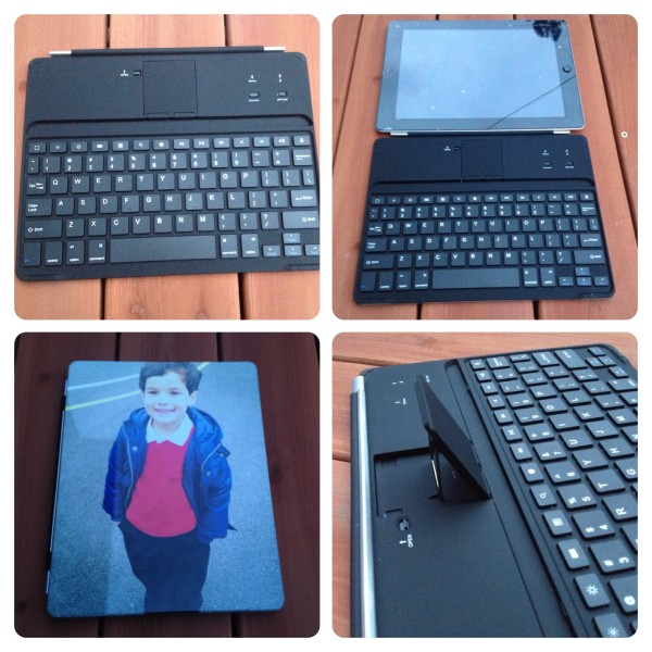 Personalised iPad Keyboard Case
