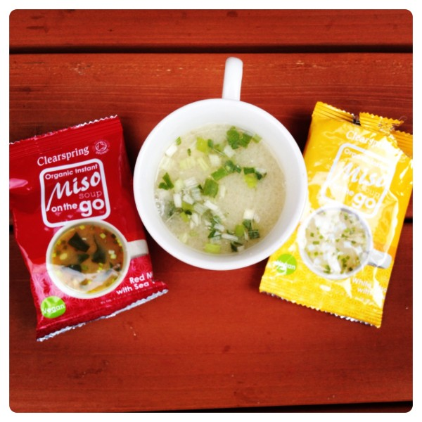 Clearspring Miso Soup on the Go