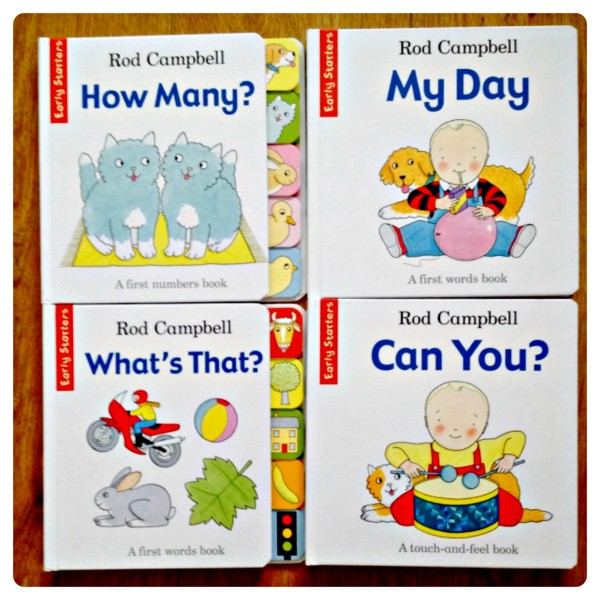Rod Campbell Early Starters Book Set