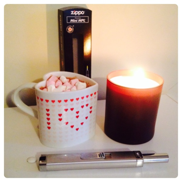 Me Time with Zippo Candle Lighter
