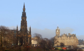 Princes St Edinburgh