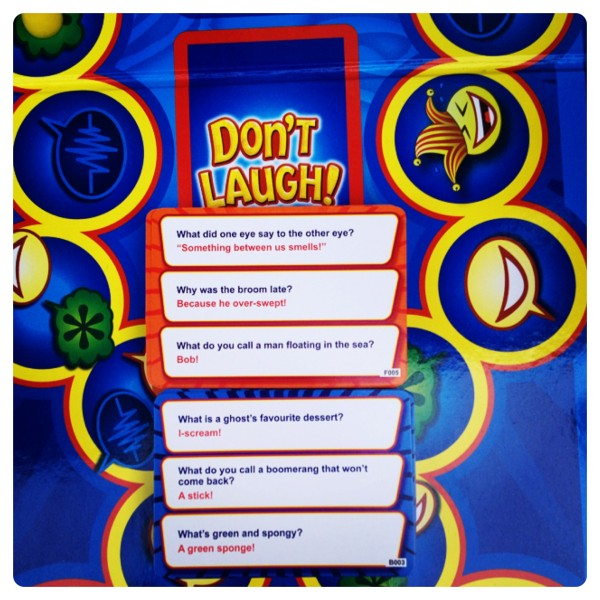 Don't Laugh! Joke Cards