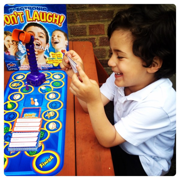 Don't Laugh! Board Game by Drumond Park