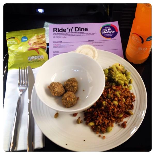 Tesco Ride 'n' Dine: Mediterranean Graze box