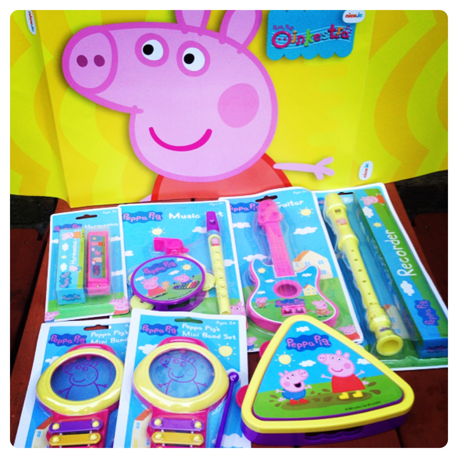 Join Peppa Pig Oink A Thon On 5th July Win 1 Of 3 Nick Jr Goodie Peppas First Sleepover Pigs Oinkestra Pack