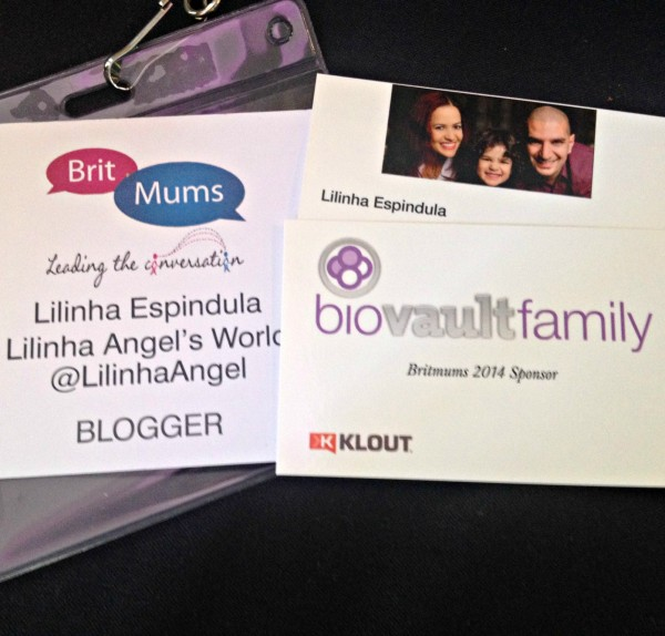 Britmums Live 2014 Business Cards