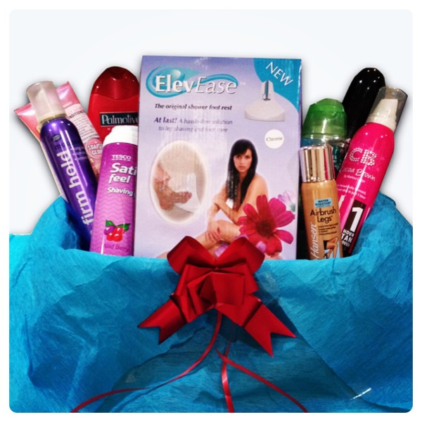 ElevEase Shower Step Beauty Hamper