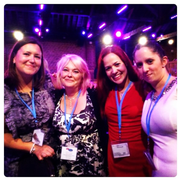 Meeting bloggers at Britmums Live 2014