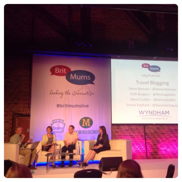 Britmums Live 2014: Travel Blogging Session