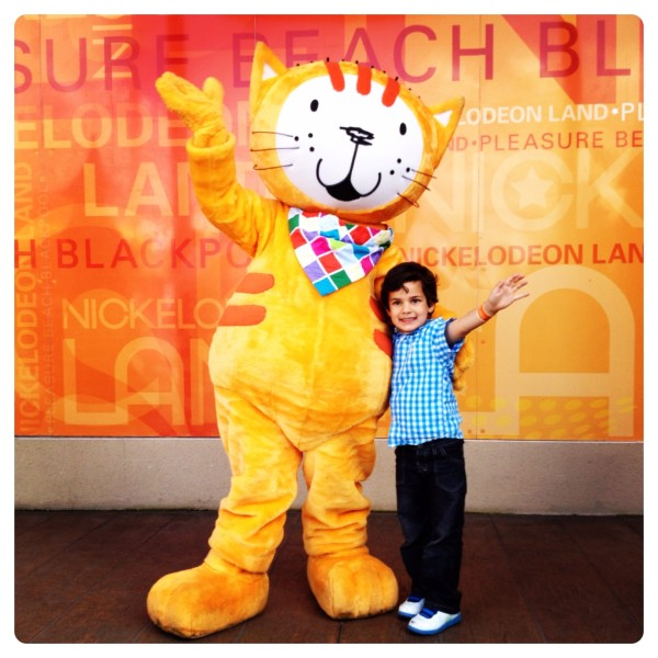 Poppy Cat at Nickelodeon Land in Pleasure Beach